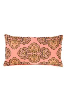 """Feather filled embroidered with decorative beads cushion    Dimensions: 12"""" x 22""""   Flory Decorative Pillow Home & Gifts - Home Decor - Pillows & Throws Canada"""