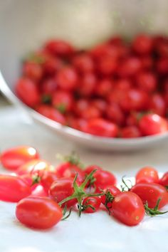 Sunny tomatoes ,so small & sweet !