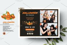 Halloween Mini Session V1356 by Template Shop on @creativemarket Halloween Mini Session, Photography Marketing, Mini Sessions, Professional Photographer, Templates, Shop, Movie Posters, Stencils, Film Poster