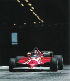 Gilles Villeneuve Monaco 1981