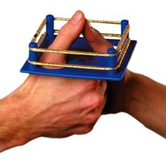 Pro Thumb Wrestling Ring. Awesome!!!