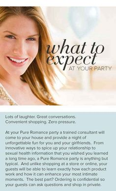 Great idea for a girls night! Book your pure romance party! Pure Romance - Host a Party