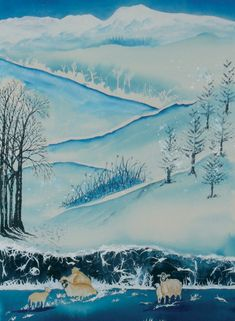 This watercolour image by Patricia Gill features the snowy Langdales in winter. Your personalisationd details are printed directly onto the inside of his deisgn Gloss Finish. Corporate Christmas Cards, Charity Christmas Cards, Personalised Christmas Cards, Xmas Cards, Greeting Cards, Watercolor Images, Watercolour, Christmas Scenery, Photo Upload