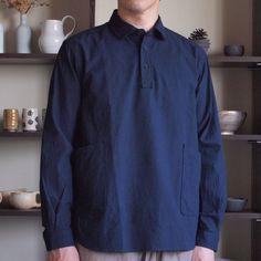 YAECA - Pullover Shirt #navy