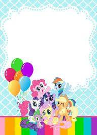 Te invito a mi cumpleaos de 6 aos a realizarse el dia 4 de febrero resultado de imagen para my little pony personajes filmwisefo Image collections