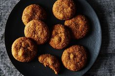 My Ginger Cookies- with finely minced or grated fresh ginger root! Chewy Gooey Crispy Crunchy Melt-in-Your-Mouth Cookies!