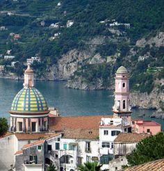 Vietri Sul Mare is at the end of the Amalfi Coast Drive. It is a wonderful place to buy ceramics and have lunch. A must see during a visit to Naples and the Amalfi Coast. Worth renting a car and getting off of the tour bus.
