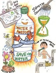 Image result for how to save water for kids posters