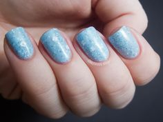 Chalkboard Nails: Sassy Lacquer Holiday Assortment - Jack Frost