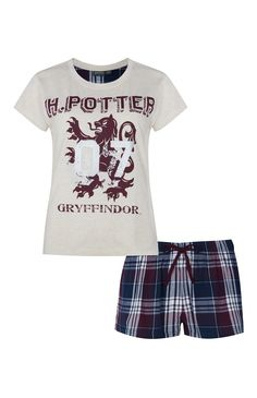 Harry Potter Gryffindor PJ Set