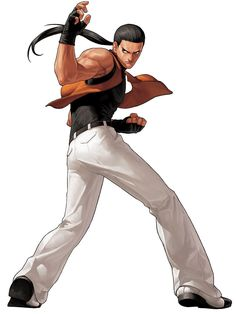 Robert Garcia from The King of Fighters XII