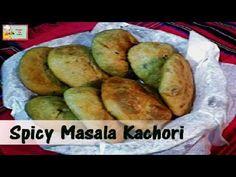 Spicy Khasta Urad Dal Masala Kachori