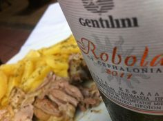Gentilini Robola 2011 with roast lamb!!! Delicious !!