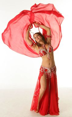 Red belly dance