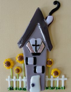 How Does Your Garden Grow Whimsical House Series by artisticflair, $50.00