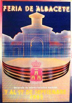 Cartel Feria Albacete 1985