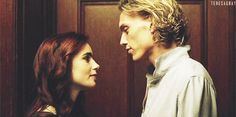 Jace and Clary. After midnight flower scene?