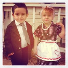 Lucy and Ricky, I Love Lucy Halloween