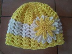 Crochet Baby Hat Patterns, Crochet Baby Beanie, Crochet Beanie Pattern, Crochet Cap, Baby Hats Knitting, Crochet Baby Clothes, Cute Crochet, Crochet Scarves, Crochet Motif