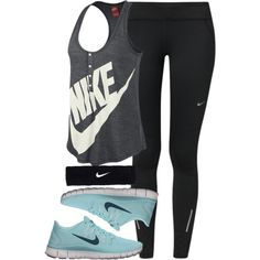Nike casual athletic outfit
