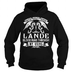LANDE Blood - LANDE Last Name, Surname T-Shirt #name #tshirts #LANDE #gift #ideas #Popular #Everything #Videos #Shop #Animals #pets #Architecture #Art #Cars #motorcycles #Celebrities #DIY #crafts #Design #Education #Entertainment #Food #drink #Gardening #Geek #Hair #beauty #Health #fitness #History #Holidays #events #Home decor #Humor #Illustrations #posters #Kids #parenting #Men #Outdoors #Photography #Products #Quotes #Science #nature #Sports #Tattoos #Technology #Travel #Weddings #Women
