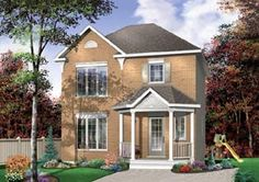 Colonial Southern House Plan 65425 Elevation