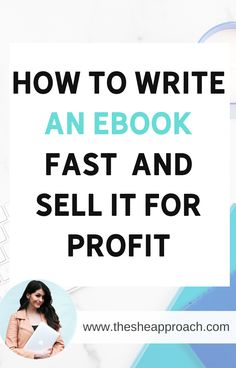 If you are at the beginning in terms of eBooks you came in the right place! I will show you how to write an eBook fast & how you can sell it for profit Make sure that you will read the post for more information about eBooks and digital products! #digitalproducts #makemoneyonline #ebooks Earn Money From Home, Earn Money Online, Make Money Blogging, Way To Make Money, Blogging Ideas, How To Start A Blog, How To Find Out, How To Make, Online Entrepreneur