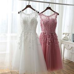 Sexy Prom Dress,Tulle and Appliques Lace Prom Dresses,Elegant