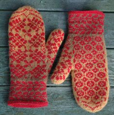 Mittens Pattern, Knit Mittens, Knitted Gloves, Knitting Charts, Hand Knitting, Knitting Patterns, Knitting Ideas, How To Start Knitting, How To Purl Knit