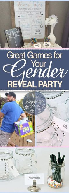Great Games for Your Gender Reveal Party