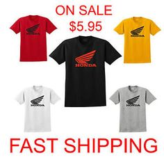 honda camiseta moto cbr ala crf 1000 600 cool t shirt s 3xl envio rapido - Categoria: Avisos Clasificados Gratis  Estado del Producto: Nuevo sin etiquetasShipping: Each additional item will cost you only 299 for shipping cost if you buying more then one!!!These are all 100 new cotton tshirts made with high quality100 Cotton preshrunkAmerican adult sizes S to 3XLShip out same day you get it within 34 days if you live in USAPayments:We accept payment through PayPal, using any of the major…