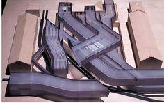 :Cos'é fondamentale nell'architettura? Architecture Tools, Futuristic Architecture, School Architecture, Bridge Model, Arch Model, Arquitectos Zaha Hadid, Zaha Hadid Architects, Toledo Museum Of Art, Built Environment