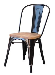 Marvel Chair with wooden seat