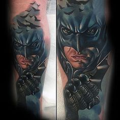 Batman Tattoo Designs For Men
