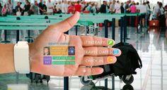 A pulseira inteligente EyeHand transforma sua mão num smartphone - Stylo Urbano #tecnologia #inovação #smartphone #futuro