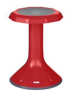 Kids' Stools - ECR4Kids ACE Active Sitting Stool 18 Red *** Visit the image link more details.
