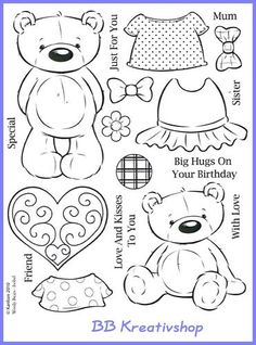 drawings of eyes Bear Template, Kanban Crafts, Paper Art, Paper Crafts, Felt Patterns, Tampons, Colouring Pages, Digital Stamps, Printable Coloring