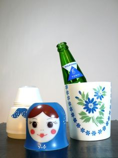 Nesting doll thermos