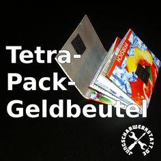 Tetrapack-Geldbeutel