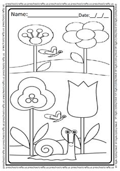 Spring Themed Coloring Page