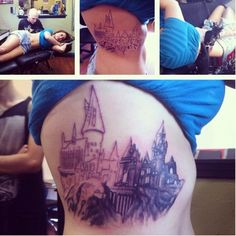 LEGIT!    This is exactly what it looks like :) Next session we're finishing the shading and adding a quote. I've loved Harry Potter for 14 years, and now I have a piece of the story with me forever.