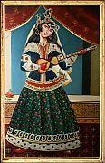 Qajar Painting - Qajar by Bijan Ghaderi Qajar Dynasty, Iran Pictures, Famous Warriors, Iranian Art, Iranian Women, Persian Poetry, Persian Pattern, Persian Culture, Oriental
