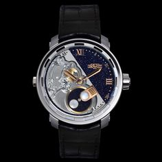 At the frontier of astronomy and watch making DeWitt Twenty-8-Eight Full Moon (See more at En/Fr/Es: http://watchmobile7.com/articles/dewitt-twenty-8-eight-full-moon) (2/3) #watches #dewitt #dewittwatches