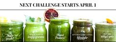 30-Day Green Smoothie Challenge! - Simple Green Smoothies  Starting April 1, we're giving free green smoothie recipes, shopping lists, and tips to get you started with living a healthy lifestyle... and it only takes you five minutes a day for 30 days! How SIMPLE is that?  Get the challenge here: simplegreensmoothies.com/30day