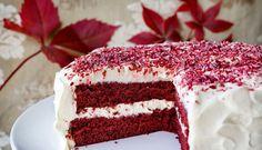 Rød fløyels kake Translation: Red velvet cake