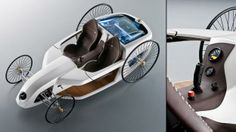 BBC - Autos - Mercedes also showed the hydrogen-powered, joystick-operated F-Cell Roadster concept in 2009.