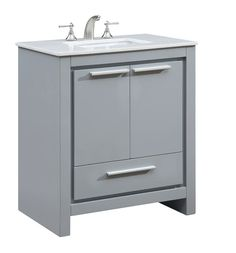 Magick Woods 30 Charlotte Collection Vanity Base At Menards