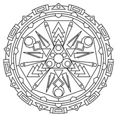 """Free printable mandala coloring pages 