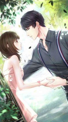 Kiyomi e Katsuyuki. Uma nova chance para o amor! Couple Manga, Anime Love Couple, Anime Couples Manga, Cute Anime Couples, Anime Love Story, Manga Love, Handsome Anime Guys, Hot Anime Guys, Bts Art
