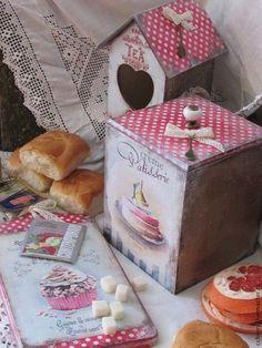 """Набор """"Сладостино"""" - набор,набор для кухни,кухня,кухонный интерьер,кухонная утварь"""